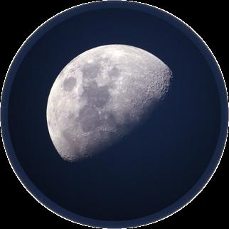 reinigen en opladen edelstenen door maanlicht